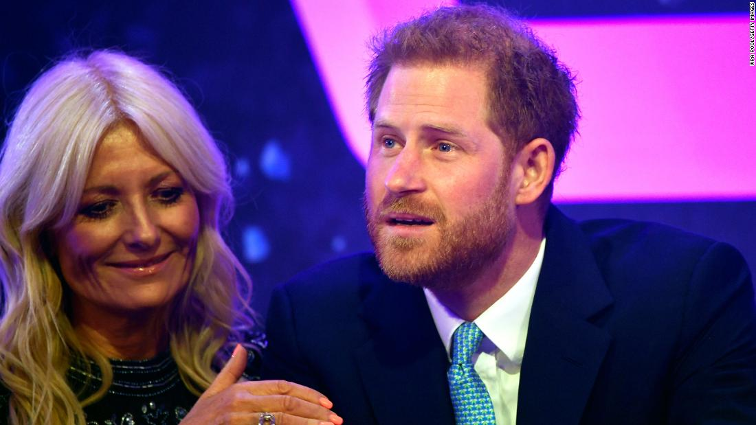 Prince Harry tears up at award ceremony as he recalls knowing he was going to be a dad
