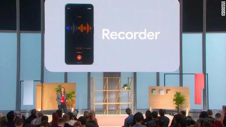 The biggest surprise of Google's Pixel event is a transcription app. Here's how it works