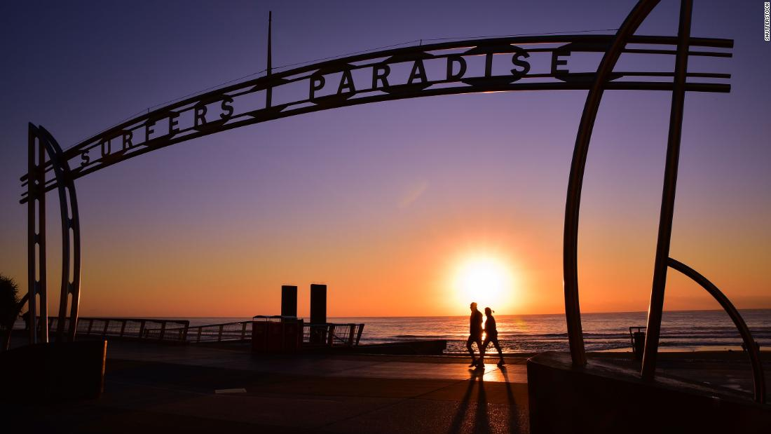 <strong>Surfers Paradise, Gold Coast, Queensland, Australia. </strong>Surfers Paradise has dealt with erosion problems for years, but the cost of beach nourishment is expected to climb steeply as sea levels rise.