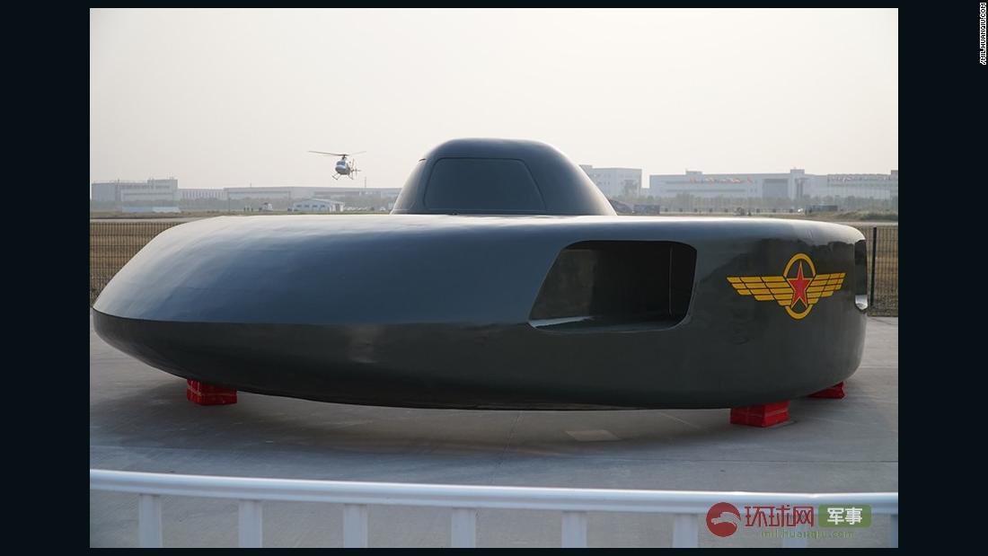 China helikopter prototipe terlihat seperti UFO
