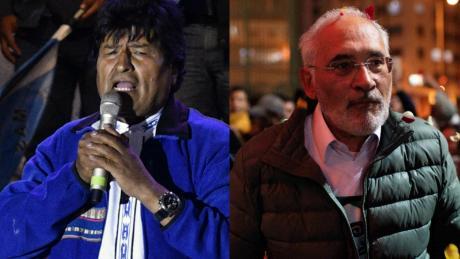 Bolivia: Evo gana pero debe ir a segunda vuelta