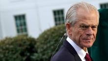 China's foreign ministry slams Peter Navarro for citing himself using a fake name
