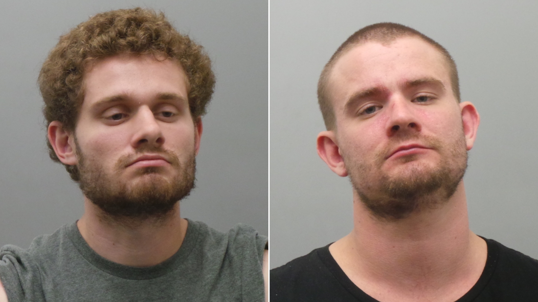 Joseph Marino, 24, and Nicholas Marino, 27, were arrested in what police say is a road rage incident.