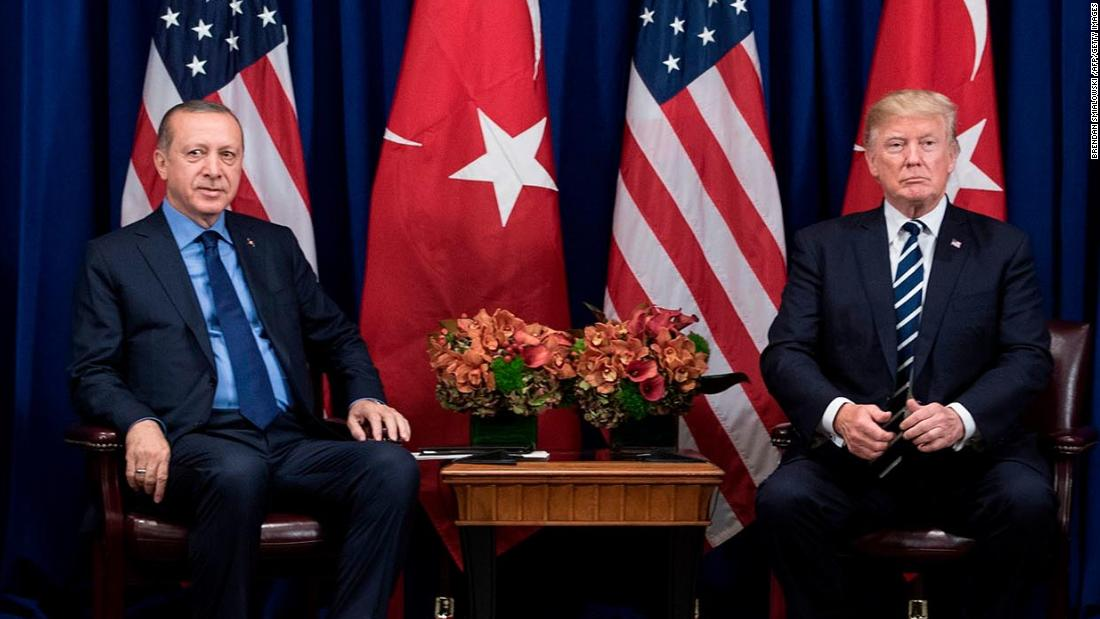 Trump wrote letter to Erdogan telling him 'don't be a fool'
