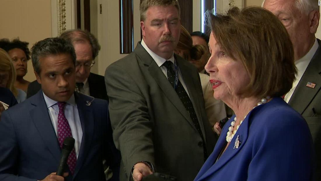 Pelosi: I am praying for Trump's health after his meltdown
