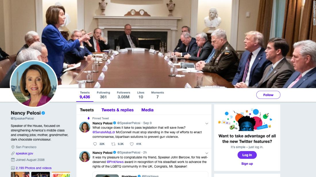 Nancy Pelosi Turned A Photo Trump Tweeted To Attack Her Into