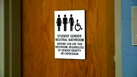 The school board voted to go back to having transgender students use single-stall gender neutral bathrooms.