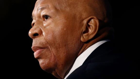 In this Aug. 7, 2019, photo, Rep. Elijah Cummings, D-Md., speaks during a luncheon at the National Press Club in Washington.