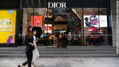 Christian Dior apologizes to China for not including Taiwan in a map