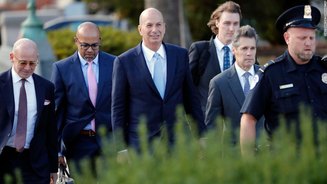 Ambassador says Trump directed diplomats to work with Giuliani on Ukraine
