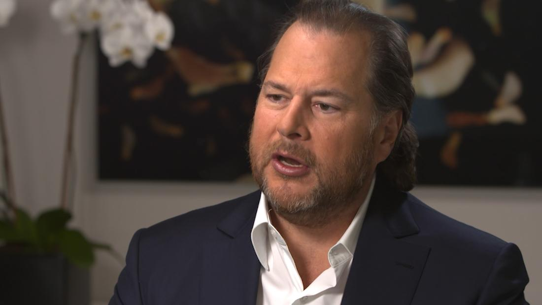 Marc Benioff says CEOs must be held more accountable — and pay more taxes, too