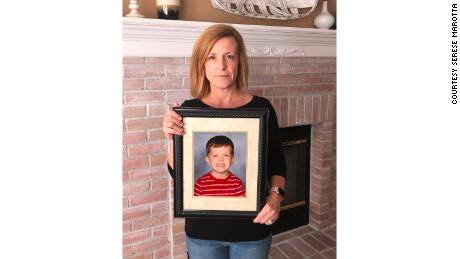 Serese Marotta's son, Joseph, died from the flu in 2009 at age 5.