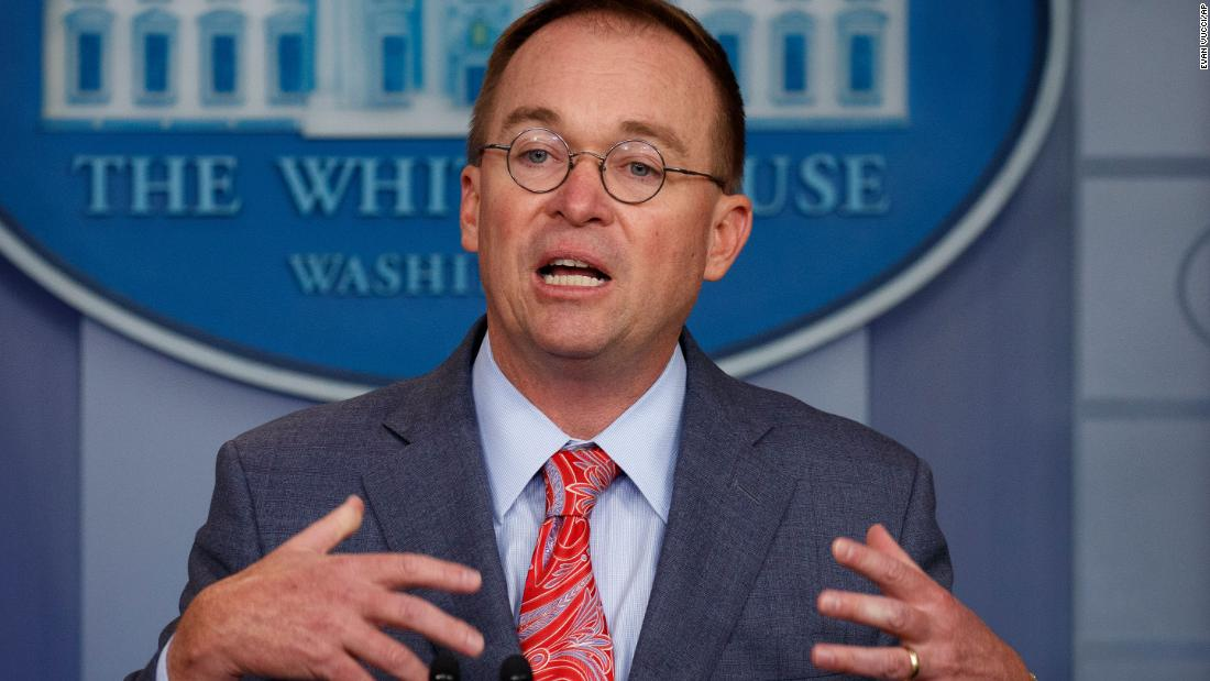 Mulvaney brashly admits quid pro quo over Ukraine aid as key details emerge