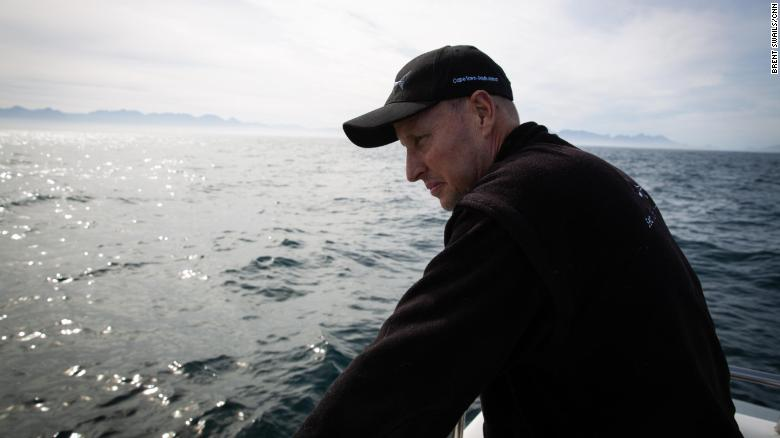 Wildlife photographer and dive operator Chris Fallows.