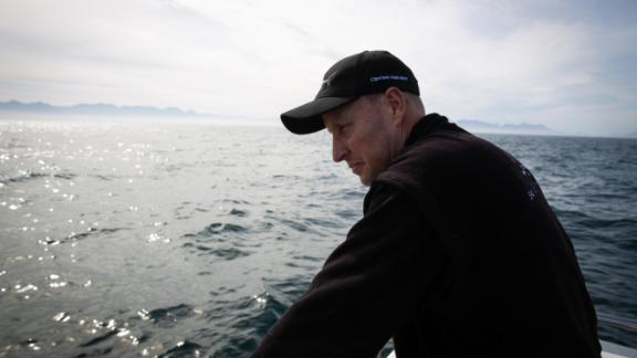 Wildlife photographer and dive operator Chris Fallows.