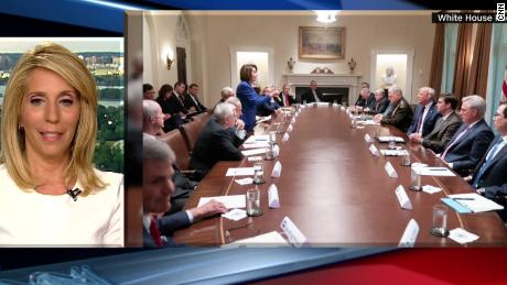 Bash Look At Pelosi Standing Up To Trump At Table Of All Men