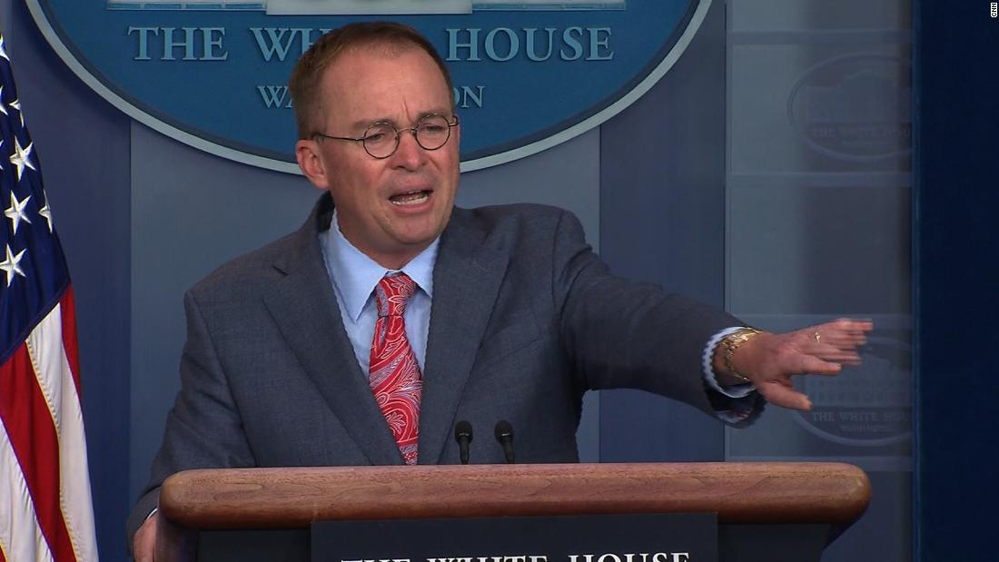 Mulvaney faced White House ouster threat before impeachment crisis took over thumbnail