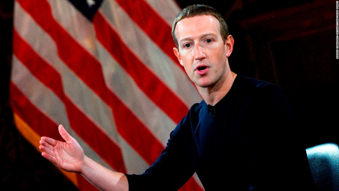Zuckerberg says social media is a kind of 'Fifth Estate'