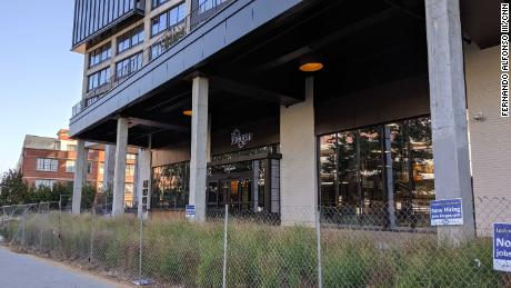 The new Kroger Store is located along the popular BeltLine Trail in Atlanta.