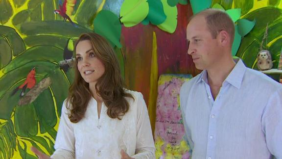 Catherine, Duchess of Cambridge, speaks exclusively to CNN on day four of the official tour of Pakistan on October 17, 2019