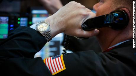 A trader works on the floor of the New York Stock Exchange (NYSE) in New York, U.S., on Friday, April 5, 2019. U.S. stocks climbed toward all-time highs, the dollar strengthened and Treasury yields fell after a report showed the economy is adding jobs with few signs of inflation and President Donald Trump pressured the Federal Reserve to sustain growth. Photographer: Michael Nagle/Bloomberg via Getty Images