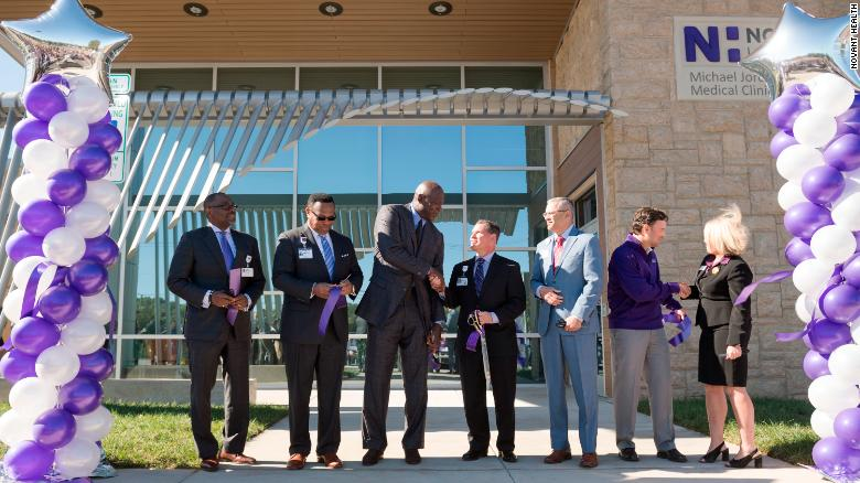Michael Jordan opens second medical clinic in Charlotte