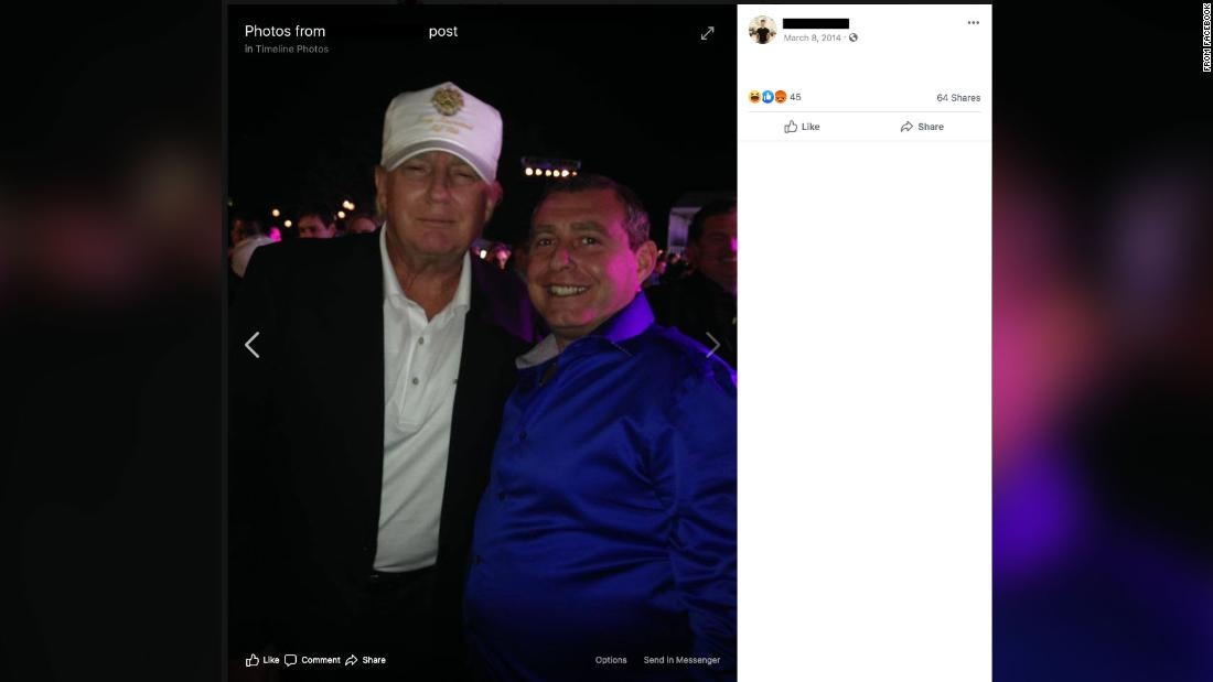 Current Status: 2014 photo of Trump and indicted Giuliani associate took place at Ivanka Trump hosted fashion show
