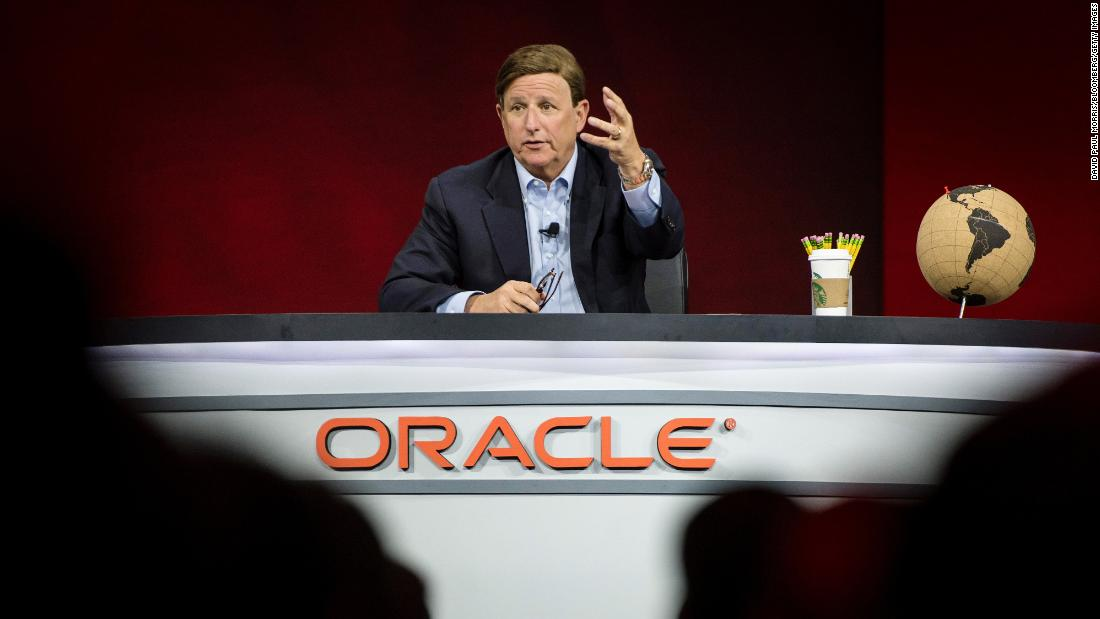 Mark Hurd, CEO of Oracle, is dead at 52