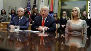 Trump calls NASA astronauts in space on first all-female spacewalk