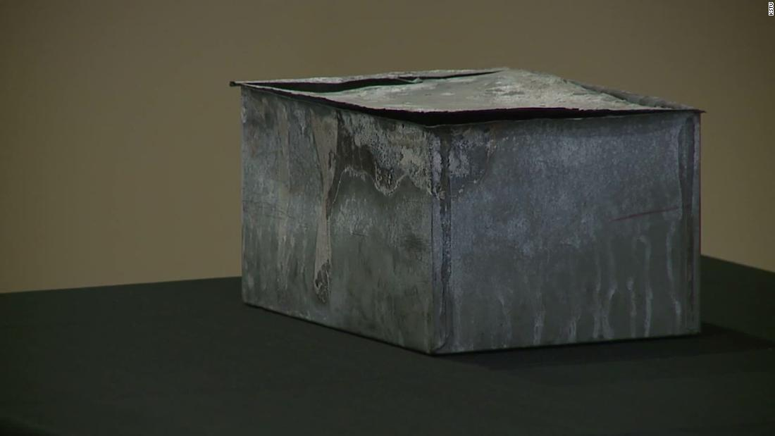 Here's what was inside a 132-year-old time capsule found in Utah
