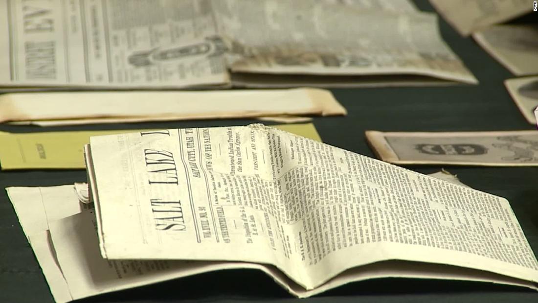 Hier ist, was drin war, eine 132 Jahre alte Zeitkapsel gefunden in Utah