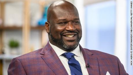 Shaquille O'Neal said the boy paralyzed in the shooting could have been his son.