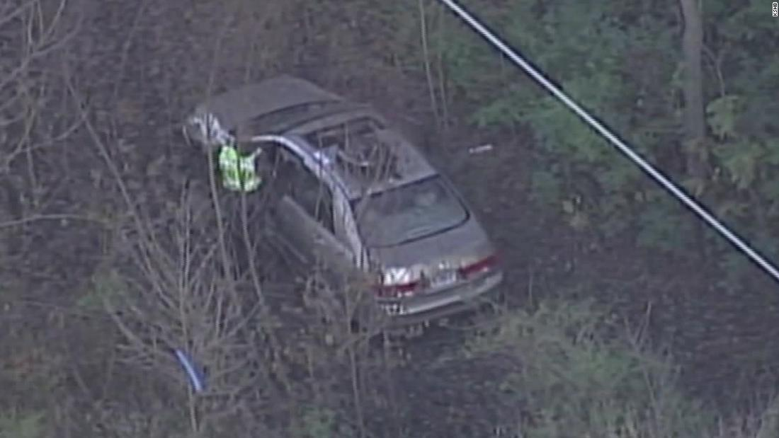 A man missing for a week is found alive inside his wrecked car at the bottom of a gully