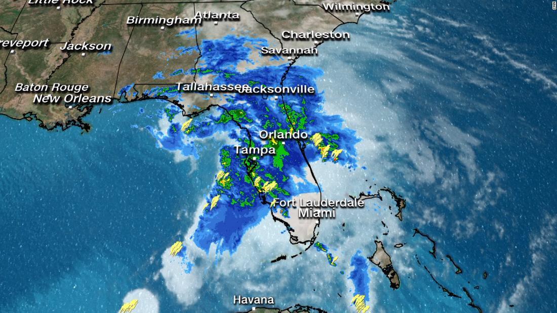 Weakened Nestor bringing heavy rains to Southeast