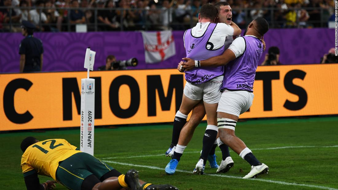 England secures place in Rugby World Cup semifinal with emphatic victory over Australia