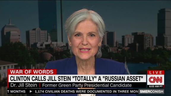 Jill Stein on Clinton