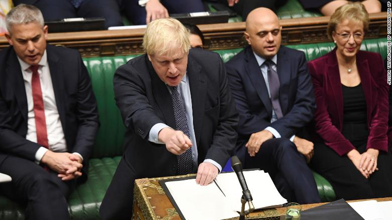 Prime Minister Boris Johnson failed to persuade lawmakers to back his plans.