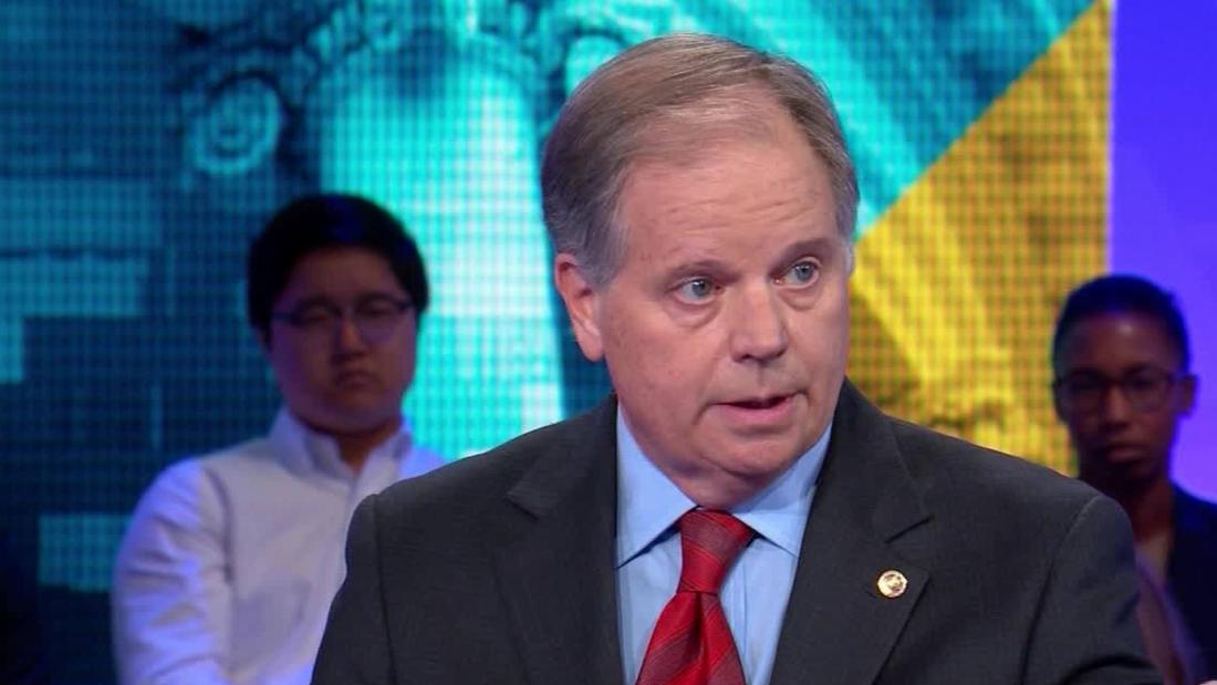 Sen. Doug Jones: O'Rouke's message on guns is wrong