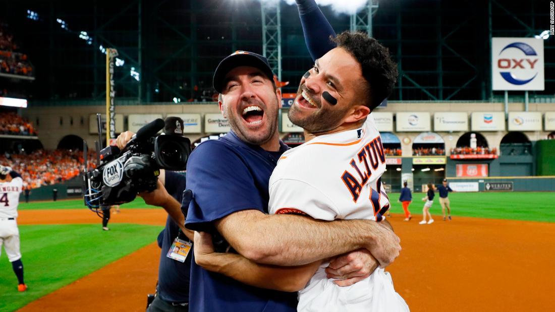 Houston Astros kepala untuk World Series setelah mengalahkan New York Yankees
