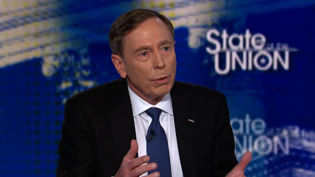 Petraeus: Syrien-Entscheidung ist die ethnische Vertreibung der Kurden