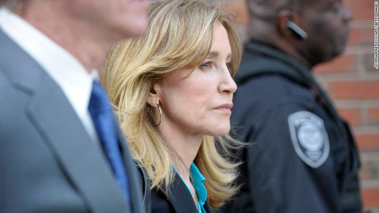 Felicity Huffman released from prison after 11 days