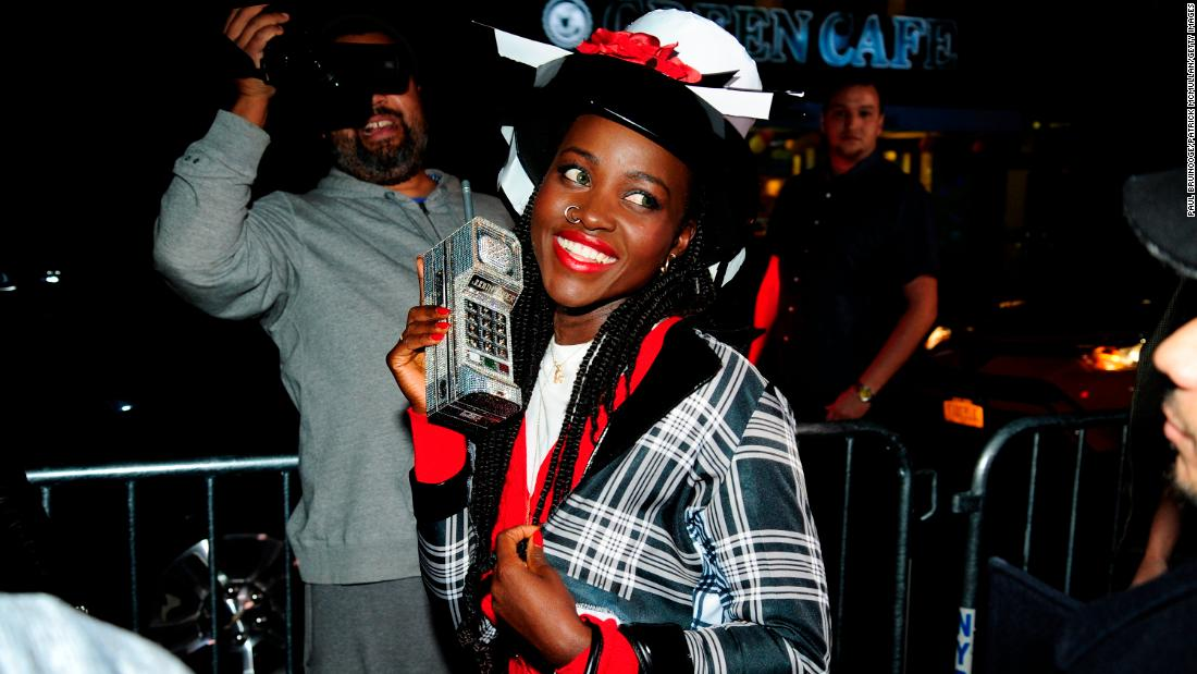 Lupita Nyong'o paid tribute to Dionne from Clueless for Heidi Klum's 2018 Halloween party.