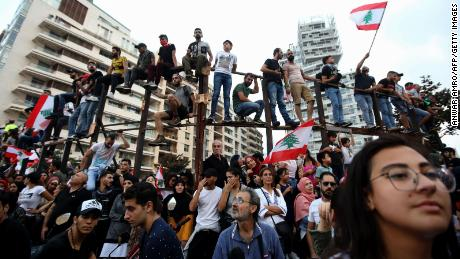 Lebanon 'days' away from economic collapse if no political solution to protests found, says central bank governor
