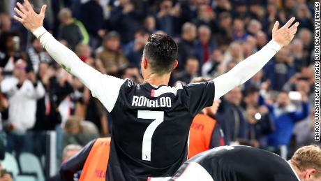 Cristiano Ronaldo scored the 701st goal of his career.