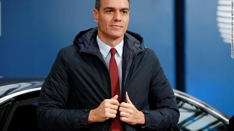 Acting Spanish Prime Minister Pedro Sanchez, pictured last month, has blamed opposition parties for the political deadlock.