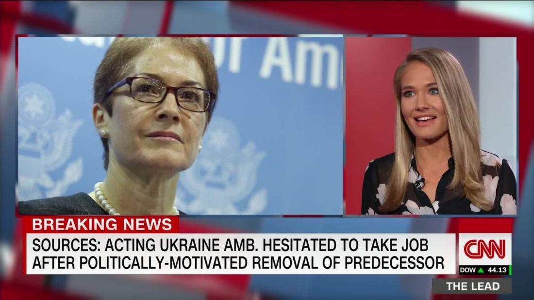 Top U.S. diplomat in Ukraine, now key impeachment witness, needed convincing to accept job