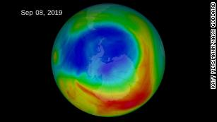 The Antarctic ozone hole is the smallest since it was discovered