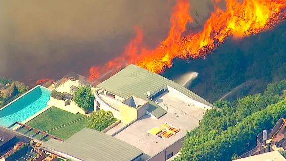 More than 300 fire personnel were dispatched to battle the Palisades Fire in Los Angeles.