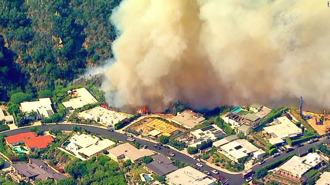 Evacuations ordered as Palisades Fire threatens multimillion-dollar homes in Los Angeles