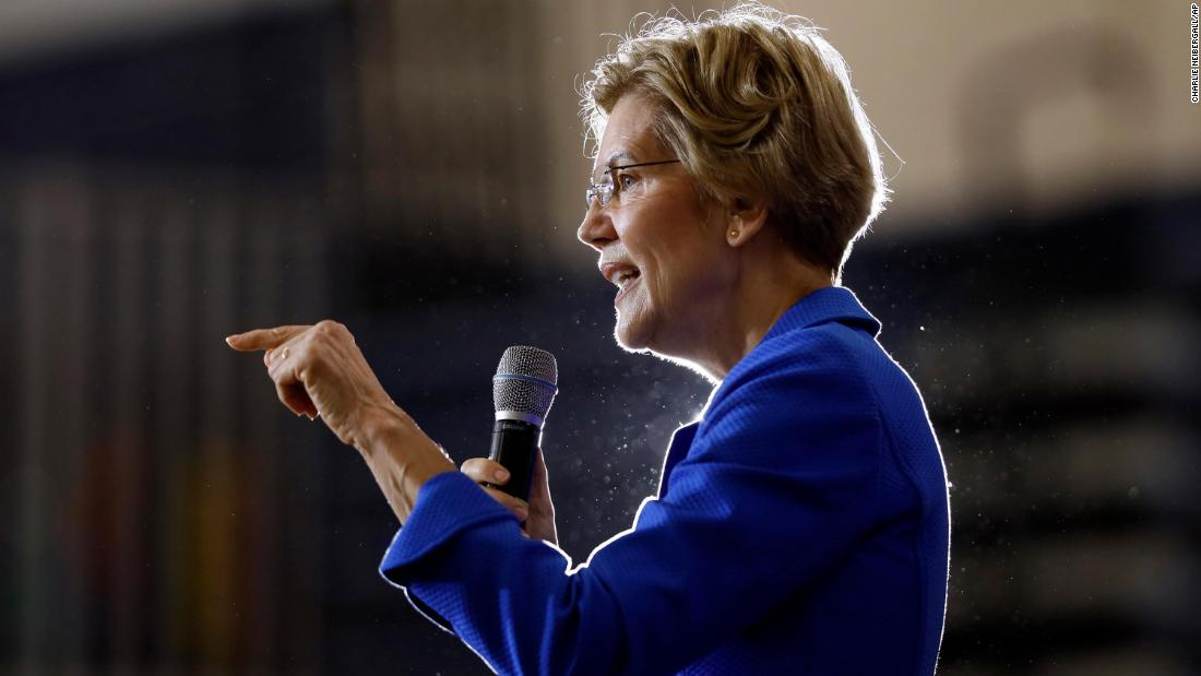Elizabeth Warren releases plan to fund Medicare for All, pledges no middle class tax hike - CNN thumbnail